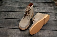 Military desert boots | Roamers Mens Desert Boots SARGENT Taupe