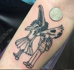 Beetlejuice tattoo by Jay Joree in Dallas Texas http://www.instagram.com/jayjoree http://www.facebook.com/jayjoreetattoos