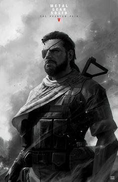 pixalry:   MGS: Big Boss Poster - Created by Dave Keenan