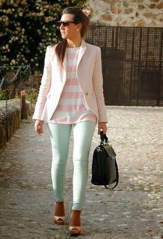 Bitacora Fashion: Fashion tip: Cómo llevar el verde menta