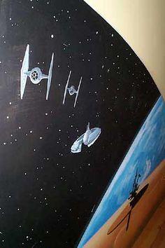 Sacredart - Children's murals - Star Wars Room 1