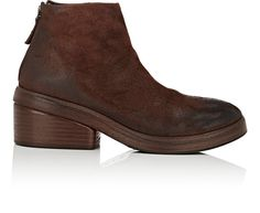 MARSÈLL Back-Zip Ankle Boots. #marsèll #shoes #all