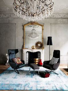 How to add drama to your living room - Living Etc Nov 2013 issue.