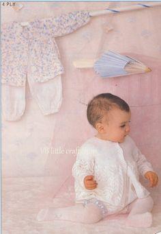 Baby's matinee coat knitting pattern. Instant PDF download! by VBlittlecraftshop on Etsy