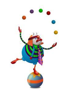 Circus juggling man | CIRCUS.COM