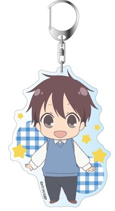 ,School Babysitters Big Key Chain Ryuichi Kashima,Collectible  listed at CDJapan! Get it delivered safely by SAL, EMS, FedEx and save with CDJapan Rewards!