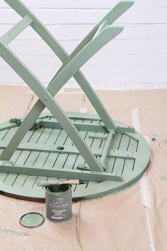 Crea Decora Recicla by All washi tape   Autentico Chalk Paint: Pintar muebles de exterior