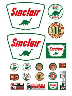 Ho Scale, Oil Company Logos, Paper Models, Gas Station, Shop Signs, Scale Models, Slot Cars, Citizen, Vintage Posters