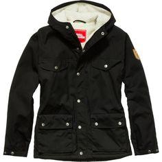 Fjallraven Greenland Winter Jacket ($210) ❤ liked on Polyvore featuring activewear, activewear jackets and fjällräven