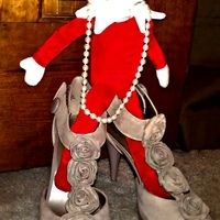 Elf playing dress-up #elfontheshelf