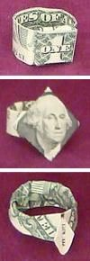 Dollar Bill Money Origami Resource Center with Diagrams and Videos