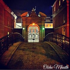 Good Night From Ireland  This is the side entrance to Dublin Castle photographed by @ciarancussen