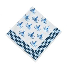 Octopus Napkins (Set of 4). So cute!!