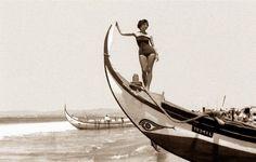 Almada Virtual Museum: Os saveiros meia lua da Costa da Caparica