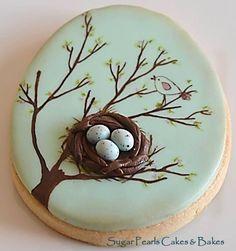 Spring Bird Nest | Cookie Connection