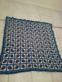 peacock blanket lined with fleece