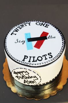 Pictures Of Twenty One Pilot Birthday Cakes