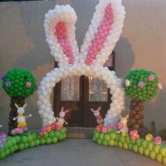 Orejitas de conejo globo