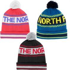CAPPELLO THE NORTH FACE Ski Tuke IV POM POM neve CAP BERRETTO CUFFIA LANA BEANIE