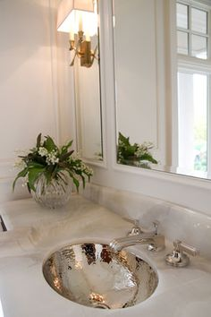 Highpoint Collection Oval Hammered Undermount Bathroom Sink With - Hammered silver bathroom sink for bathroom decor ideas