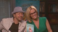 Jenny McCarthy and Donnie Wahlberg are two years into their marriage, and just as smitten with one another as ever.