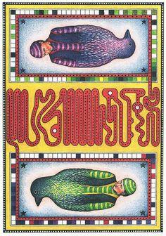 Luigi Seraphina, illustration from the Codex Seraphinianus