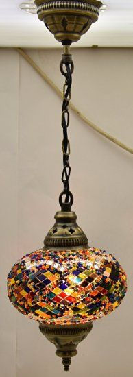 Ceiling Pendant Fixtures, Mosaic Lamps, Turkish Lamps, Hanging Lights, Moroccan…