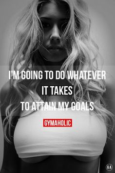 "gymaaholic: "" Whatever it takes !! http://www.gymaholic.co """