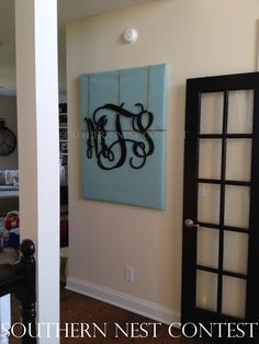 """I get tons of compliments on this…it's the first thing people see when they enter our home. Thanks!!!"" -Molly"