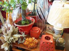 Lamps, Pots, Vases and More
