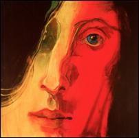 Elżbieta Wasyłyk, Chopin I, 2010, akryl, olej, płótno, 100x100 cm