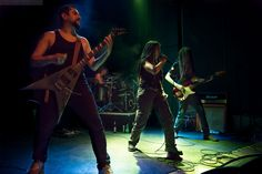 """This is from a concert by the new Berlin #deathmetal band """"Meat"""" last Friday night.  #meat #concert #concertphotography #konzert"""