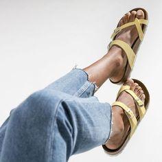 11 Vegan Birkenstock Sandals for Happy Summer Feet Birkenstock Sandals Mayari, Vegan Birkenstock, Vegan Sandals, Vegan Shoes, Summer Feet, Calf Muscles, Vegan Fashion, Ethical Fashion, Pull Up