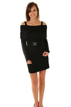 DHStyles Women's Black Stylish Off Shoulder Long Sleeve Dress with Belt - Medium #sexytops #clubclothes #sexydresses #fashionablesexydress #sexyshirts #sexyclothes #cocktaildresses #clubwear #cheapsexydresses #clubdresses #cheaptops #partytops #partydress #haltertops #cocktaildresses #partydresses #minidress #nightclubclothes #hotfashion #juniorsclothing #cocktaildress #glamclothing #sexytop #womensclothes #clubbingclothes #juniorsclothes #juniorclothes #trendyclothing #minidresses…