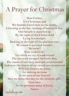 A Prayer for Christmas