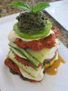 raw lasagne!