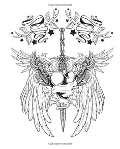 tattoo coloring book 2 exciting pictures from the world of body art chartwell coloring - Body Art Tattoo Designs Coloring Book