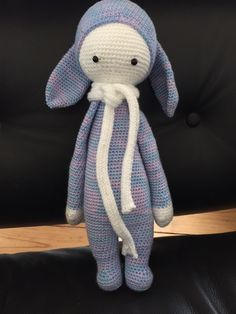 RITA the rabbit made by Mel C. / crochet pattern by lalylala