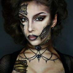 """""""Steampunk Makeup  Using my @mikasabeauty Brushes! """""""