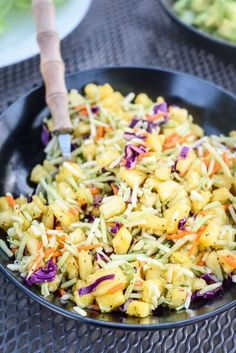 Banish boring coleslaw forever! This asian broccoli slaw is the perfect sidekick to your bbq, tacos or pulled pork sandwiches. It's so good you might never touch regular coleslaw again.
