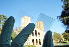 Ventanas solares transparentes  Investigadores de la Universidad de California (UCLA) han desarrollado una célula solar transparente.  La nueva célula fotovoltaica puede ser utilizada para la fabricación de ventanas, convirtiendo cualquier hogar u oficina en un punto generador de electricidad.