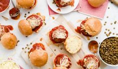 Everyone loves meatballs, and this lentil variation is no different. Loaded with fresh herbs and ricotta cheese, these lentil meatballs are light and lovely, especially when smothered in your favourite tomato sauce and served slider-style.