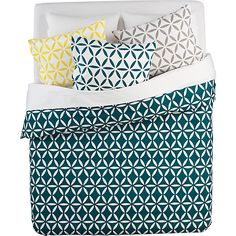 CB2 Moroccan-inspired Bed Linens