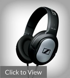 Sennheiser 201  Headphone users can be categorized into three groups: the audiophile, the bass lover, and the casual listener. If you're a casual listener who simply wants to have a break from unreliable and cheap headphones, then the Sennheiser 201 might be the answer. An established brand, it is surprising that Senneheiser also has a penchant for offering products to low-end customers.
