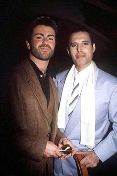 George Michael & Freddie Mercury 1990