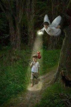 Guardian Angel w boy