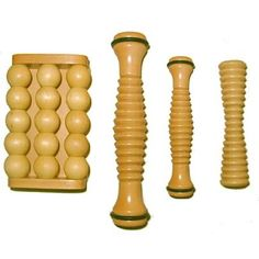 Wooden Foot Rollers - great for sore feet!