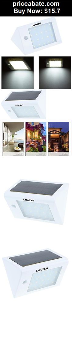 Farm-Garden: Solar Powered LED Wall Lights Lamp Outdoor PIR Motion Light Sensor Garden 0UZ3 - BUY IT NOW ONLY $15.7