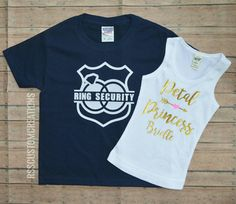 Petal Princess Shirt Petal Patrol Shirt Ring by RSSCustomCreations
