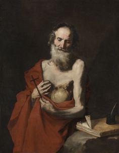 Jusepe de Ribera - Saint Jerome